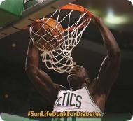 Sun Life Dunks for Diabetes