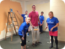 Charlestown Teen Center Painting