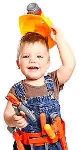 Kid Construction Worker