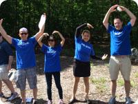 Deloitte Volunteers at Camp
