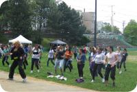 East Boston Zumba in the Park