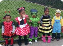 Roxbury Preschool in Halloween Costumes