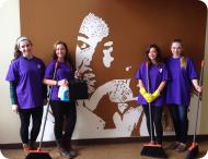 MLK Volunteers in Roxbury