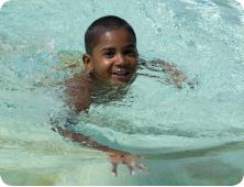Swimming Boy